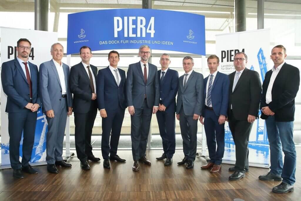 Leinen los am Pier4 - Gruppenbild